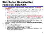distributed coordination function csma ca