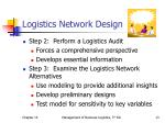 logistics network design13