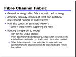 fibre channel fabric