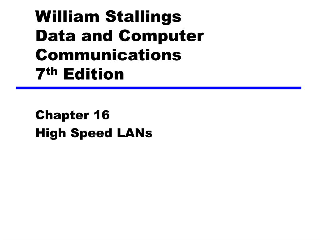 william stallings data and computer communications 7 th edition l.