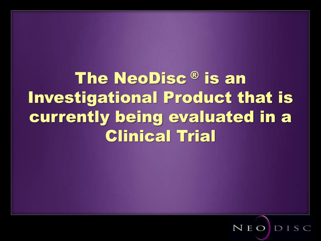 The NeoDisc