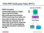 visa pin verification value pvv