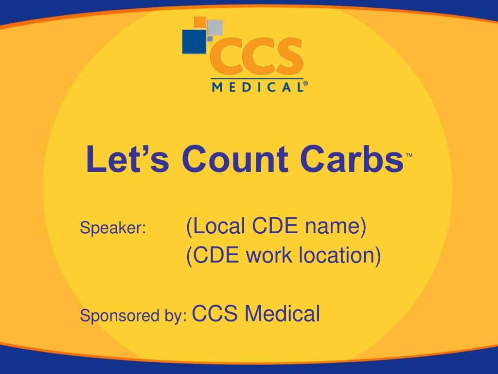 let s count carbs l.