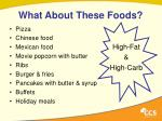 what about these foods