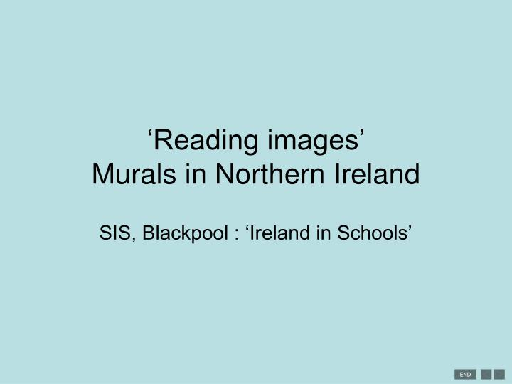reading images murals in northern ireland n.