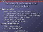 benefits of interference based exposure tools