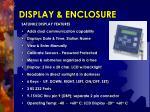 display enclosure