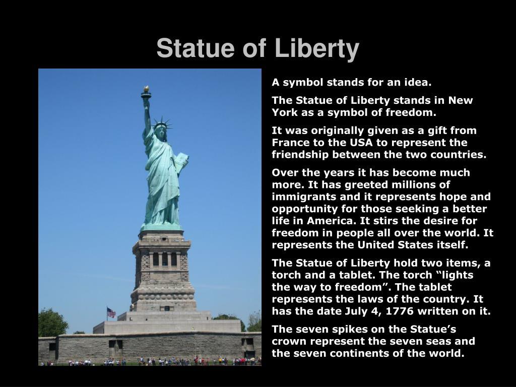 statue of liberty l.