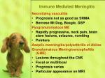 immune mediated meningitis77