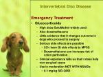 intervertebral disc disease19