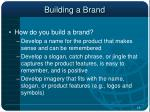 building a brand19