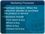 marketing processes11