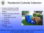 residential curbside collection