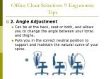 office chair selection 9 ergonomic tips48