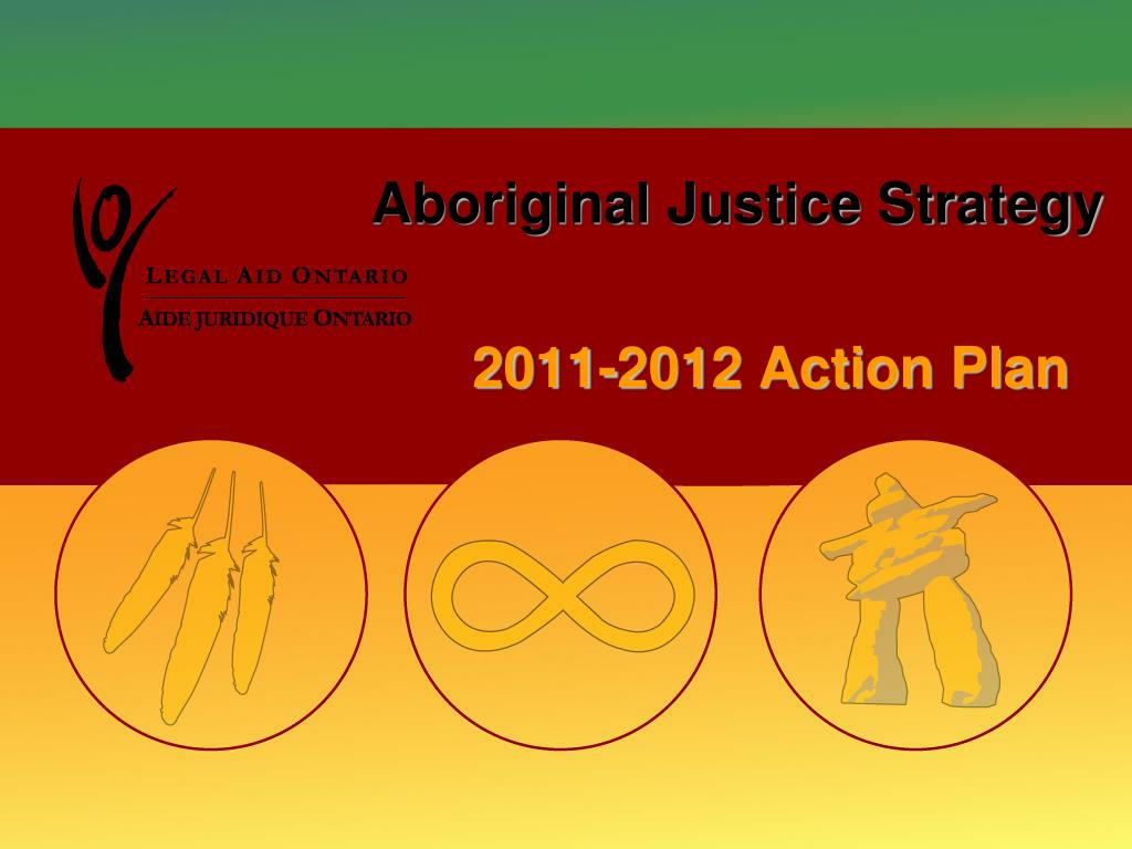 aboriginal justice strategy l.
