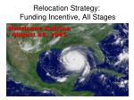 relocation strategy funding incentive all stages