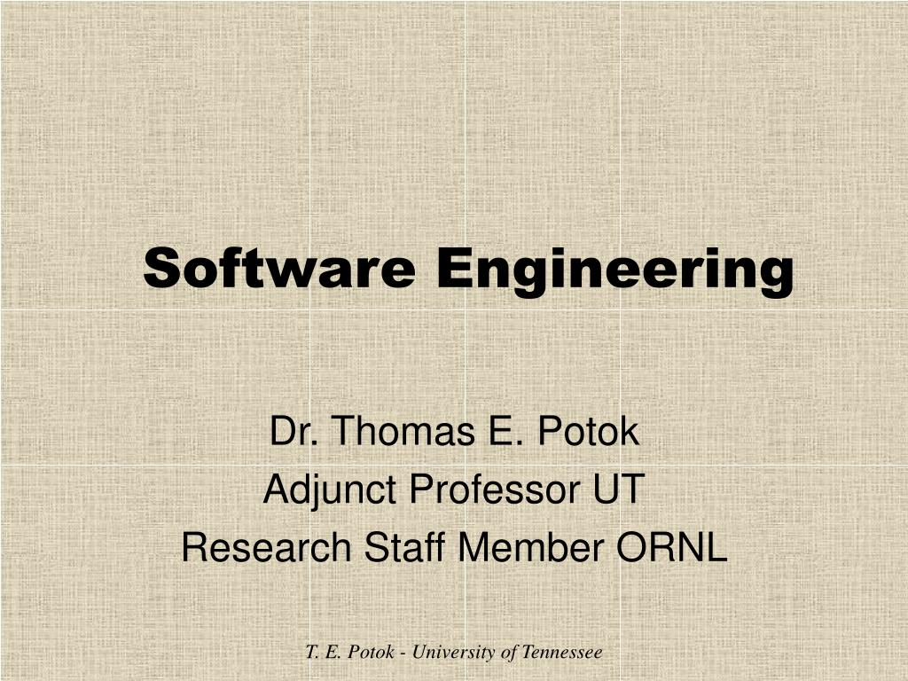 software engineering l.