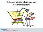 visions of a culturally competent healthcare system
