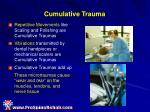 cumulative trauma