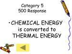 category 5 500 response