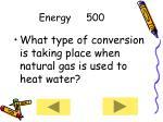 energy 500