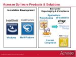 acresso software products solutions
