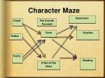 character maze