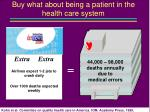 buy what about being a patient in the health care system