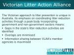 victorian litter action alliance