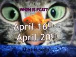 when is fcat