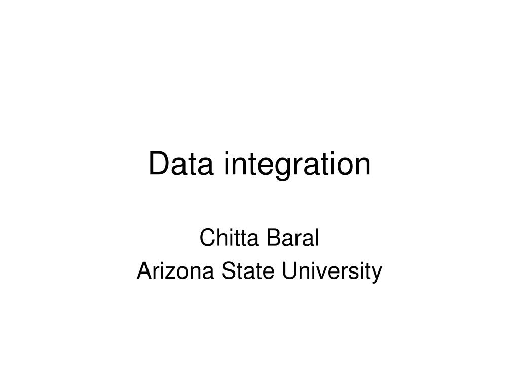 data integration l.