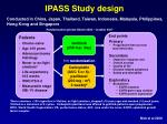 ipass study design