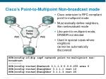 cisco s point to multipoint non broadcast mode