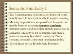 semantic similarity i