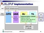 lol l ip o p implementation