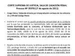 corte suprema de justicia sala de casaci n penal proceso n 35978 17 de agosto de 201123