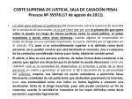 corte suprema de justicia sala de casaci n penal proceso n 35978 17 de agosto de 201131