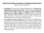 estatuto nacional de drogas y sustancias psicoactivas borrador de julio 20 de 201145