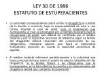 ley 30 de 1986 estatuto de estupefacientes6