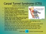 carpal tunnel syndrome cts claiborne powell reynolds lynch 1999