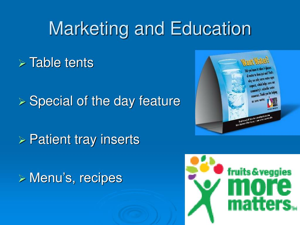 Marketing and Education