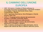 il cammino dell unione europea