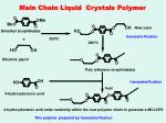 main chain liquid crystals polymer
