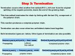 step 3 termination