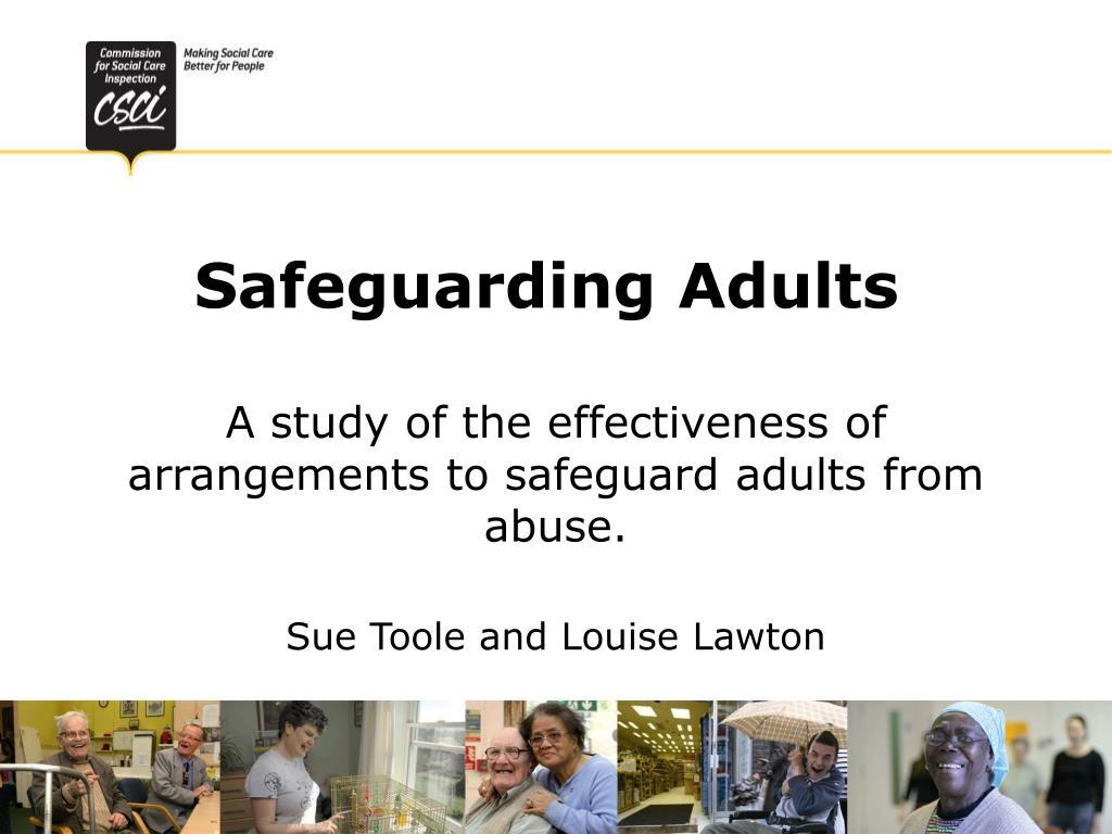 safeguarding adults l.