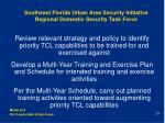 southeast florida urban area security initiative regional domestic security task force21