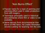 ken burns effect