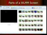 parts of a wlmm screen
