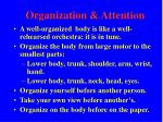 organization attention