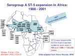 serogroup a st 5 expansion in africa 1988 2001